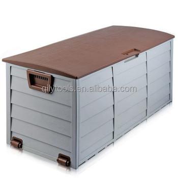 Box In Plastica Per Giardino.Giardino Esterno Di Plastica Petto Di Stoccaggio Capannone Box Causa