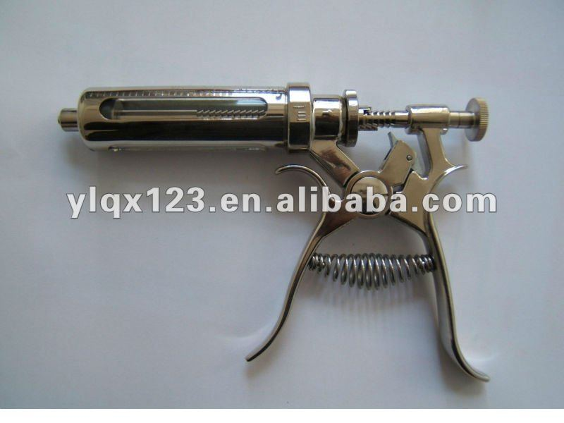 Veterinary metal Automatic Syringe