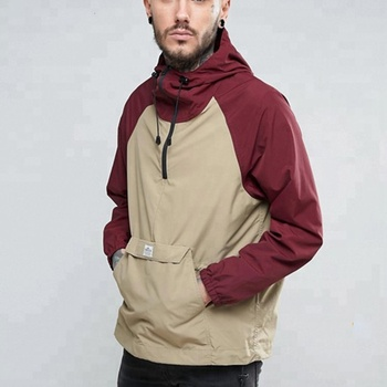 9a5268bebc Mens Pouch Pocket Two Tone Hooded Overhead Windbreaker Jacket - Buy  Overhead Windbreaker Jacket,Two Tone Hooded Overhead Windbreaker  Jacket,Mens Pouch ...