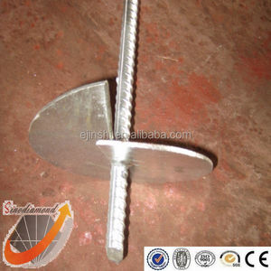 Professional Factory Hot Dipped Galvanized Rebar Rod Helix Anchor