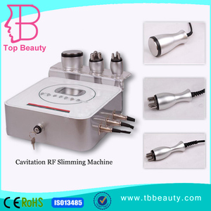3 in 1 40khz ultrasonic cavitation with RF multifunction machine CE