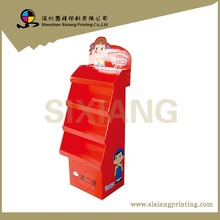 Retail store Removable Merchandise Cardboard Shirt Counter Display