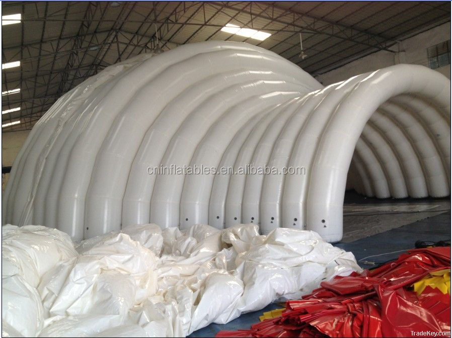 inflatable tent/ inflatable white dome marquee for event