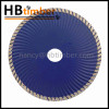 "High performance 9"" dry turbo electroplated diamond saw blade cutting concrete"