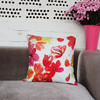 2015 cheap Lily digital print scenery new design cushion cover wholesale