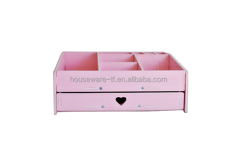 2017 New style Pink and White color design jewlery box