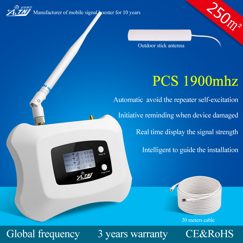Chinese factory price 1900mhz wcdma gsm cell phone signal repeater