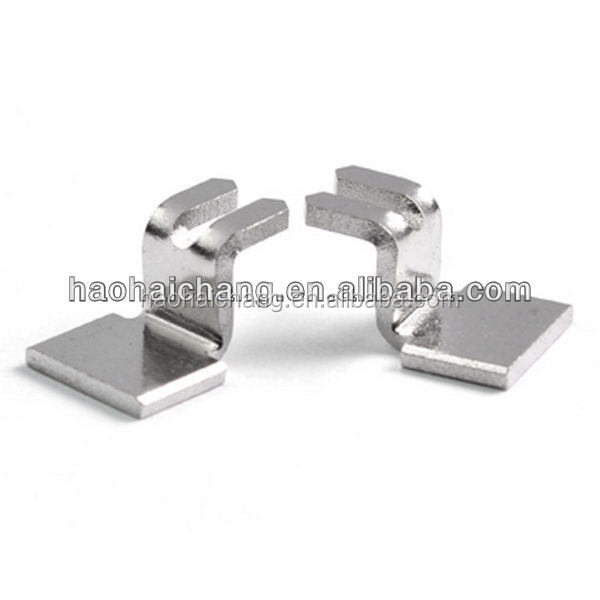 Auto straight terminal in zinc material For Refrigerator Thermostat