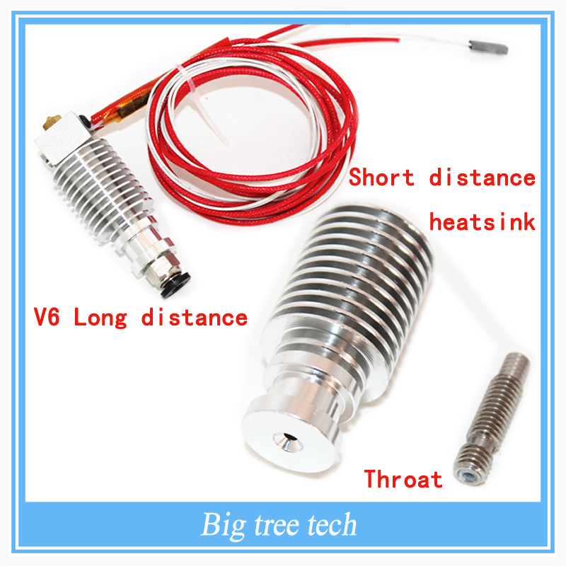 Free shipping E3D V6 Long distance J-head Hotend for 1 75