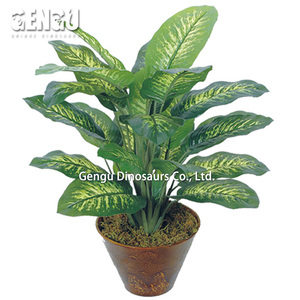 Artificial Aglaonema Brevispathum Artificial Plants Decoration