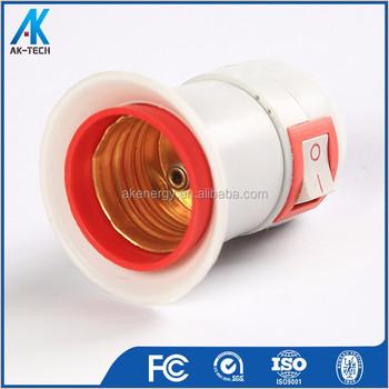 Plastic E27 12 Volt Lamp Dimmer Light Socket Switch Type - Buy Light Socket  Type,Lamp Dimmer Socket,12 Volt Lamp Socket Product on Alibaba com