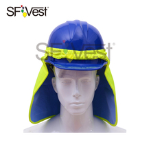 High Visibility Reflective Fluorescent Safety Wear Neck Shade Flap