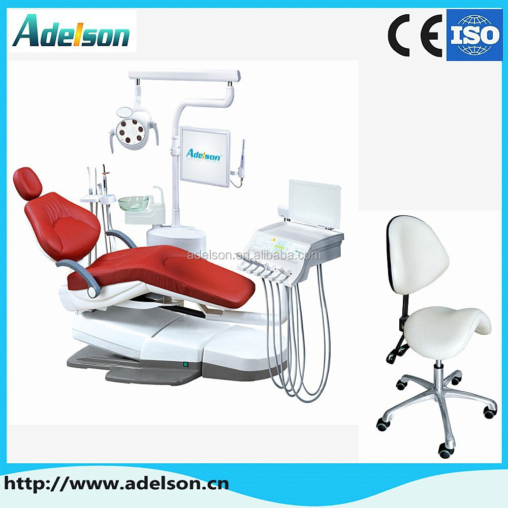 Surgical dental instruments full casting aluminum base massage dental chair anle