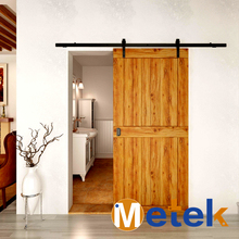 Carbon steel material sliding barn door hardware