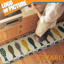 Custom size printed foot mats ground mat floor carpet for living room or bathroom
