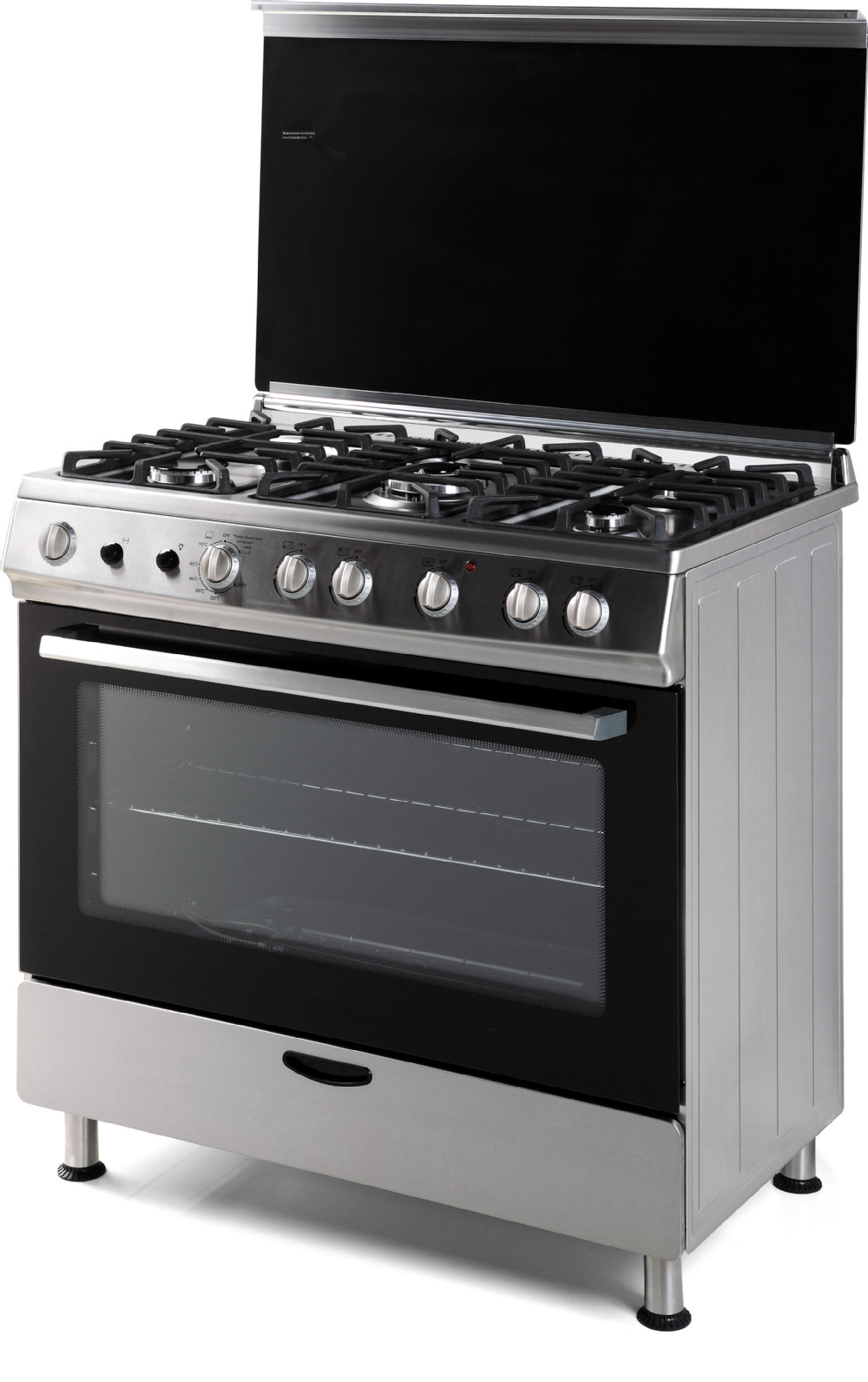 60 90cm 5 Burners Free Standing Gas Cooker With Oven Buy