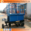 12m lifting height500kg loading capacity Mobile Scissor Lift/ Aerial Work Platform /