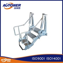 Aktion stahl rollende leiter einkauf stahl rollende for Escalera aluminio plegable easy
