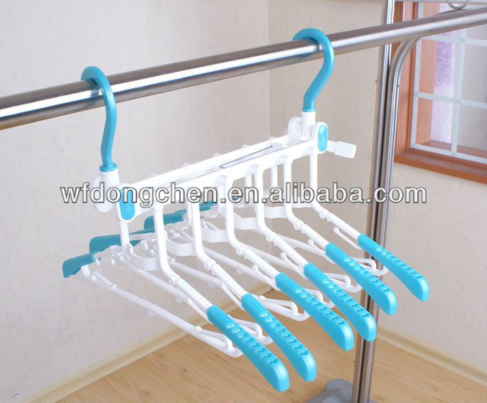 beautiful Combined plastic hanger from China manufacturer of Dongchen