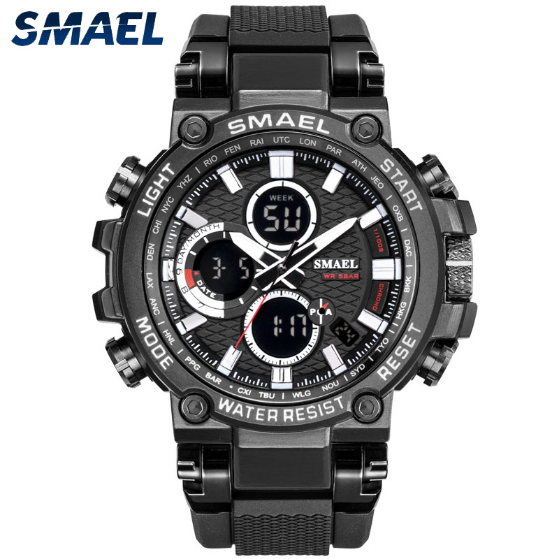 SMAEL new product 1803 sport water resistant electronic wrist watch фото