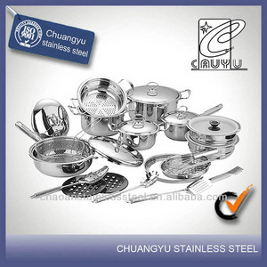 stainless steel china cook at home cookware