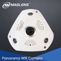 Factory OEM/ODM High resolution home security, P2P Cloud Mobile PT Wifi IP Camera, 360 panorama mini hidden fisheye ip hidden