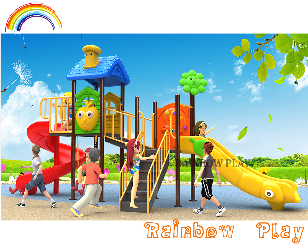 safety outdoor equipment happy sun baby series game ground set for children play area