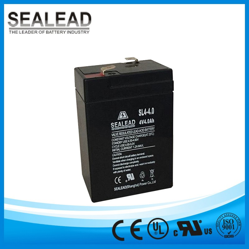 lead acid battery 4v 4.0ah rechargeable batteries for electronic clean roller tape