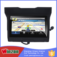 4.3 Inch Tft Touch Screen 256M Ram Waterproof Bluetooth Gps Tracking System Apply To Moto / Car /Bike