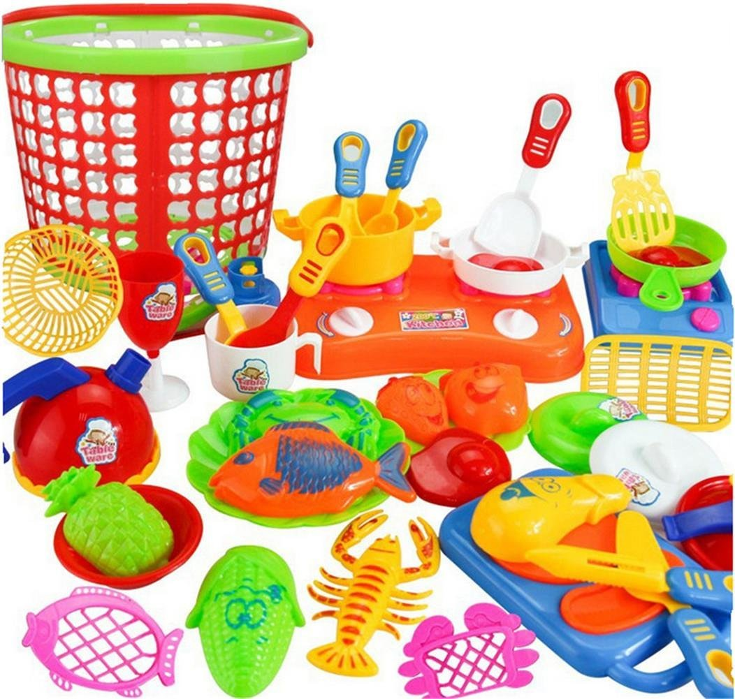 Buy Small World Toys Living Axier Pretend Play Kitchen Set For Kids 35 Pcs Kitchen Playset With Foods For Kids Playset In Cheap Price On Alibaba Com