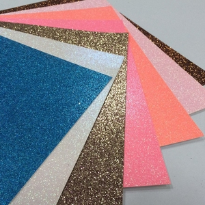 free sample available fluorescence color 12x12 glitter cardstock paper