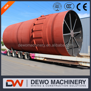 Best Rotary Kiln Manufacture in China for 500 tpd Cement Plant--Henan Dewo