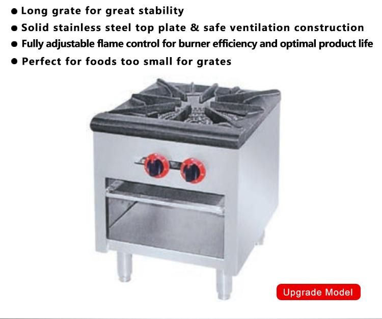 italian heavy duty blue flame cooker single burner gas stove price