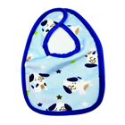 soft waterproof minky PUL double sided available to use baby terry cloth bib