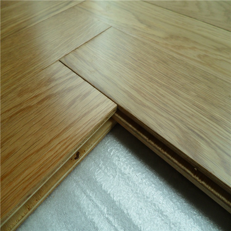 Oiled Prefinished Natural Color Wide Plank engineered oak wood flooring