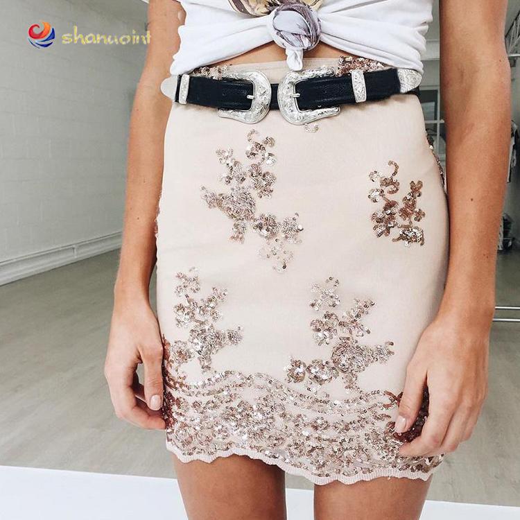 0651750c2 Venta al por mayor faldas para oficina plisadas-Compre online los ...
