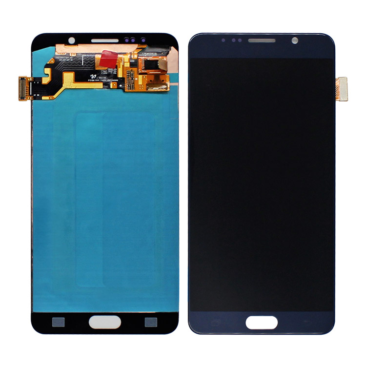 Wholesales lcd display assembly for galaxy note 5,China OLED with changed lens for samsung note 5