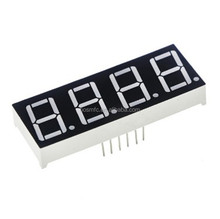 customize led display size Ultra white /red 5 inch LED 4 digit 7 segment display