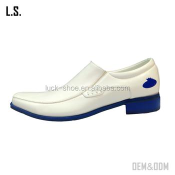 6abf36ea85f4 2016 cheap price men s white PU casual dress shoes church shoes for custom