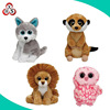 Custom soft stuffed animal organic plush baby toys organic toy
