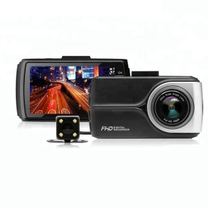 Newest Model Dual Lens Dash Cam With Night Vision And G Sensor 3.0 Inch HD Double Cameras Car DVR