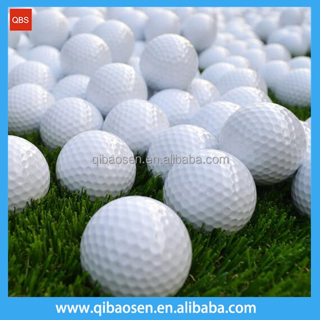 Wholesale stock colored biodegradable golf balls, Customers own logo printed golfballs with low price
