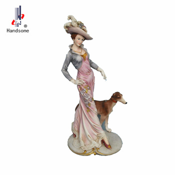 13 Inch Handicraft Resin Statue Mold Artificial Sex Lady Figure Images