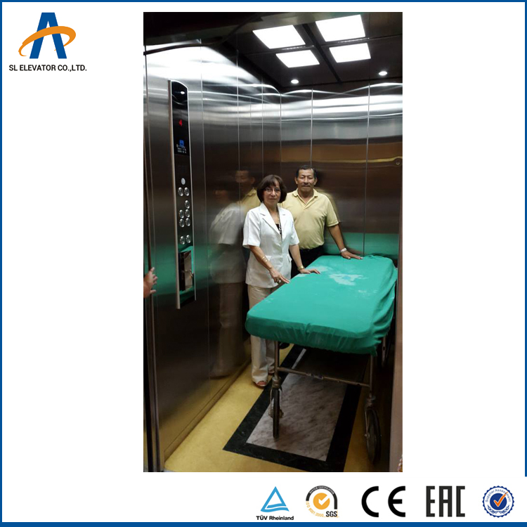 Shuangling Lit Ascenseur Hydraulique Taille Marques En Chine Ascenseur D'hôpital