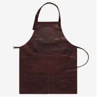 Buy High Quality Dark Brown genuine leather work apron, leather ...