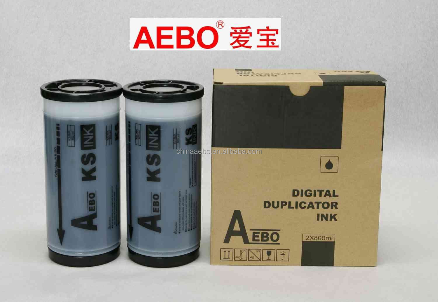 Digital duplicator Ink and Master GR/RZ/CZ (1000ml) compatibel for GR3700/3710/3750/371/373/375/370