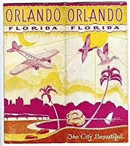 Orlando Florida The City Beautiful Brochure 1923 Photos Map More