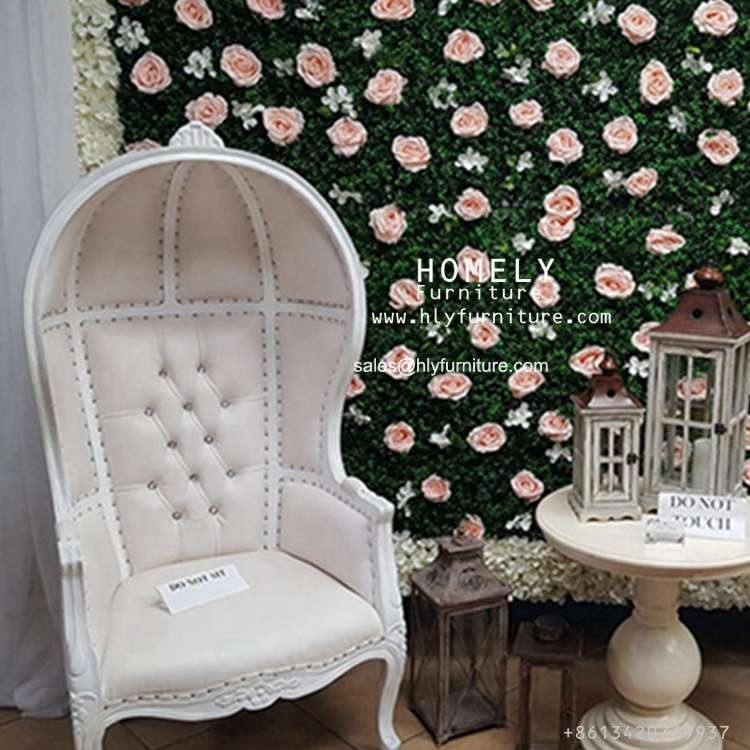 Modern Royal Classical king throne royal silver chair wholesale HY-K223