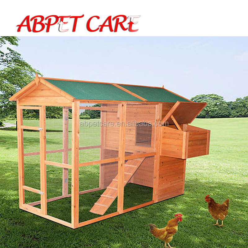 Cheap easy clean outdoor pet house chicken coop