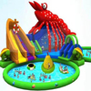 big discount inflatable water swimming pool slide for sale